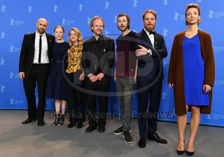 "Promocja filmu ""My Brother's Name Is Robert and He Is an Idiot"" na Berlinale 2018"